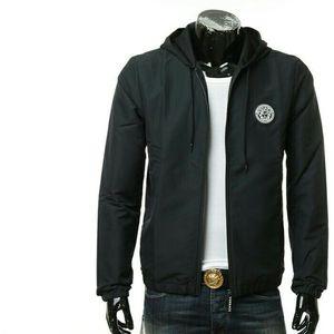 Versace范思哲美杜莎男士修身休闲夹克外套