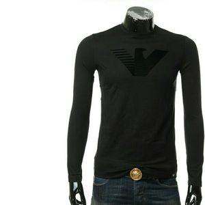 Emporio Armani EA阿玛尼鹰标男士长袖T恤圆领上衣
