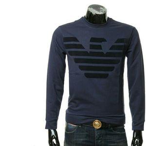 Emporio Armani EA7阿玛尼男士鹰标套头卫衣外套