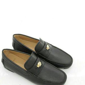 Versace 范思哲美杜莎真皮休闲皮鞋低帮鞋