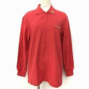 LANCEL兰姿正红金标长袖polo衫针织T恤