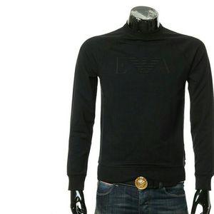Emporio Armani EA阿玛尼鹰标男士长袖套头卫衣