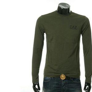 Emporio Armani EA7阿玛尼男士长袖圆领T恤