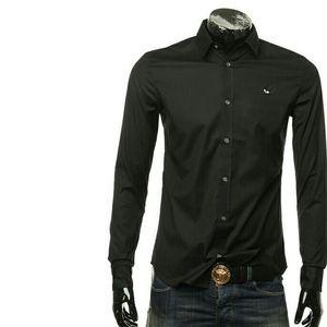 Alexander McQueen亚历山大·麦昆经典燕子男士长袖衬衫