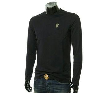 Versace范思哲金标美杜莎男长袖T恤