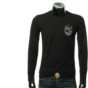 Versace Jeans范思哲男士长袖T恤