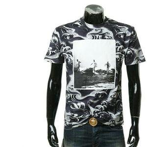 Alexander McQueen亚历山大·麦昆男士圆领短袖T恤