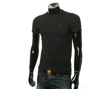 Emporio Armani阿玛尼男士修身百搭短袖T恤