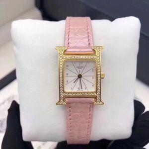Hermès 爱马仕间金女腕表