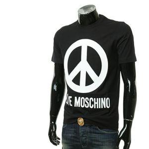 Moschino莫斯奇诺男士短袖圆领T恤