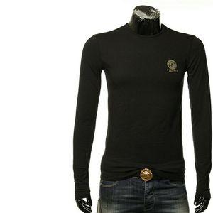 Versace范思哲美杜莎男士修身打底长袖T恤