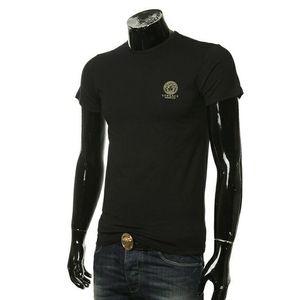 Versace范思哲 美杜莎百搭打底修身弹力男士短袖T恤