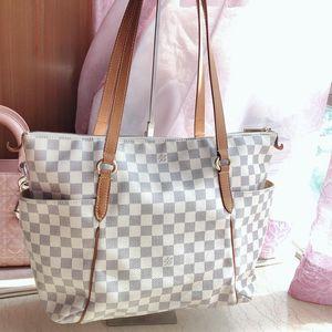 Louis Vuitton 路易·威登棋盘格单肩手提包