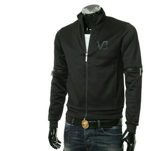 Versace Jeans范思哲男士长袖夹克外套