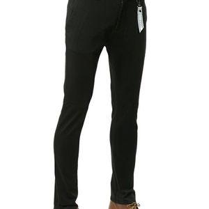Versace Jeans范思哲男士修身休闲裤