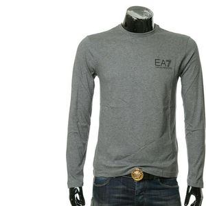 Emporio Armani EA7 阿玛尼背部字母男士长袖