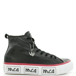 Alexander McQueen 亚历山大·麦昆燕子真皮高帮休闲鞋