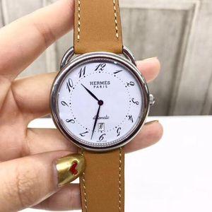 Hermès 爱马仕ARCEAU系列035184WW00自动机械腕表