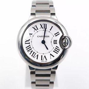Cartier 卡地亚蓝气球系列W69010Z4石英女士腕表