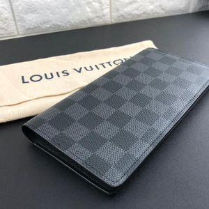 Louis Vuitton 路易·威登长款黑格钱包