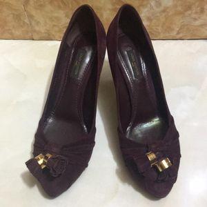 Louis Vuitton 路易·威登紫高跟鞋