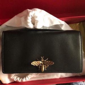 Dior 迪奥evening系列bee pouch小蜜蜂手包