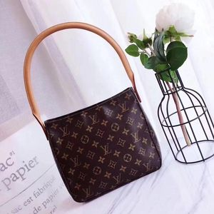 Louis Vuitton 路易·威登老花圆柄单肩手提包
