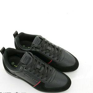 Versace Jeans 范思哲拼接材质男士皮质休闲鞋