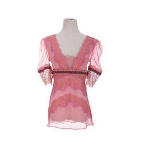 DOLCE&GABBANA 杜嘉班纳限量款刺绣蕾丝上衣