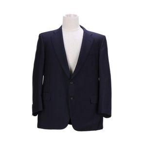 Burberry 博柏利藏蓝色男士时尚休闲西服