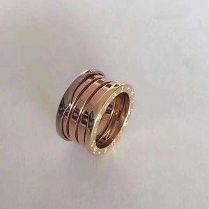 BVLGARI 宝格丽三彩戒指