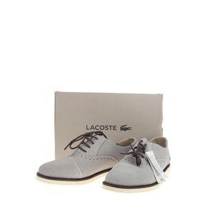 LACOSTE 鳄鱼圆头系带时尚休闲鞋