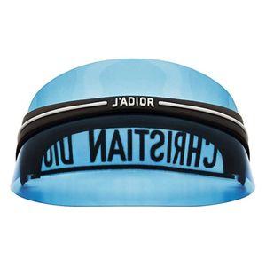 Dior 迪奥透明冰蓝色遮阳帽防晒帽