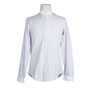 GUCCI 古驰立领条纹商务休闲男士衬衫