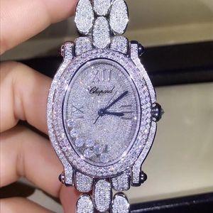 Chopard 萧邦快乐钻石系列满天星石英女表