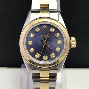 Rolex 劳力士自动机械女表18k金