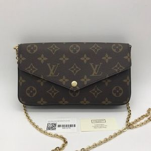 Louis Vuitton 路易·威登老花三合一链条包