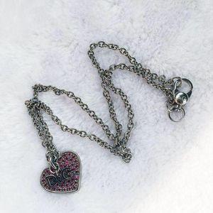 DOLCE&GABBANA 杜嘉班纳粉水晶项链