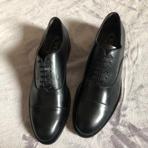 TOD'S 托德斯黑色男士经典款正装皮鞋