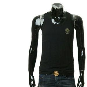Versace 范思哲男士美杜莎背心T恤