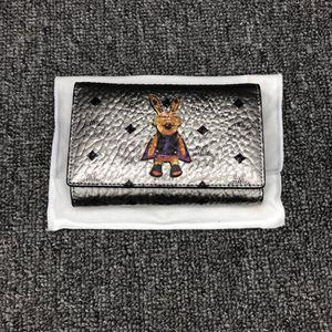 MCM 银白色钱包