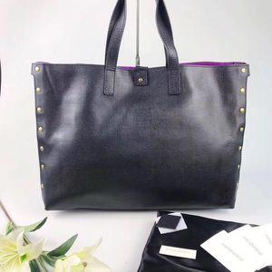 Yves Saint Laurent 伊夫·圣罗兰全皮子母购物袋