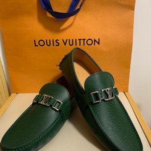 Louis Vuitton 路易·威登经典车鞋平底鞋