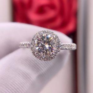 钻石  经典四爪满天星1克拉女士钻石戒指