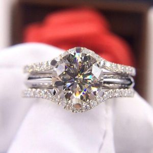 钻石  奢华经典可拆分款2.01克拉女士钻石戒指