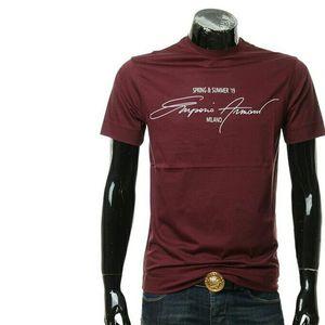 Emporio Armani 安普里奥·阿玛尼男士修身圆领短袖T恤