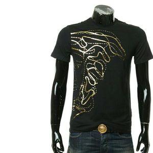Versace 范思哲烫金美杜莎男短袖T恤