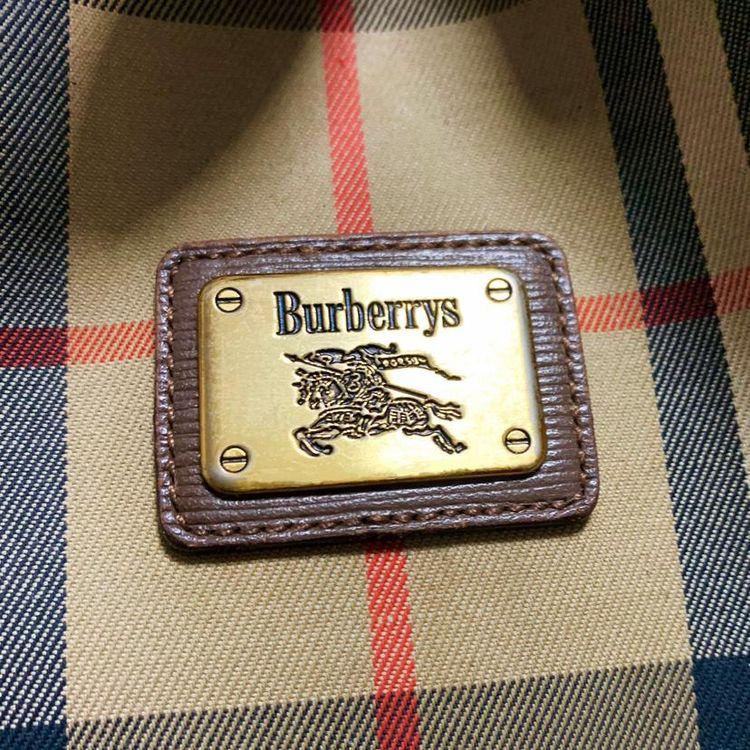 Burberry 博柏利战马格纹抽带水桶单肩包