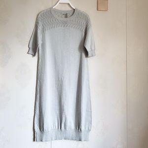 PRADA 普拉达女士长款针织衫连衣裙码40