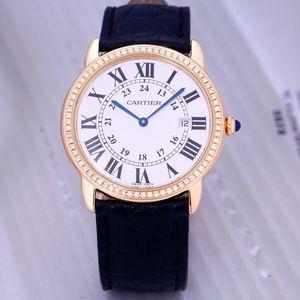 Cartier 卡地亚伦敦系列WR000651后钻机械腕表